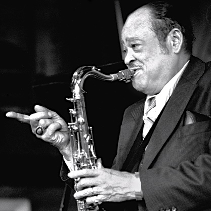 Arnett Cobb at Bach Dancing & Dynamite Society, Half Moon Bay CA 1979